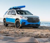 2021 Chevrolet Traverse Cargo Liner Photos Specifications Price Images