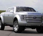 2021 Ford Super Chief Interior Truck