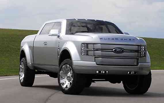 2021 Ford Super Chief Interior Truck