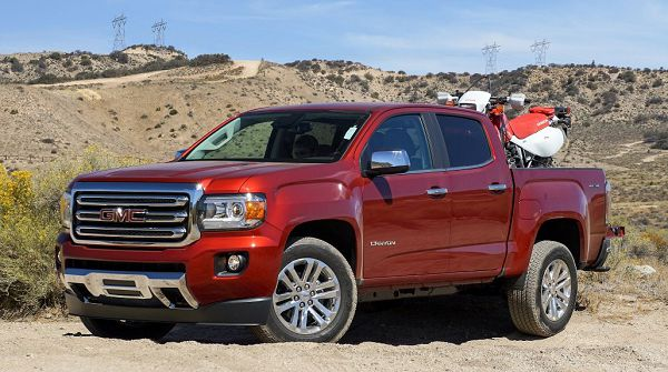 2021 Gmc Canyon Slt Pictures Brochure