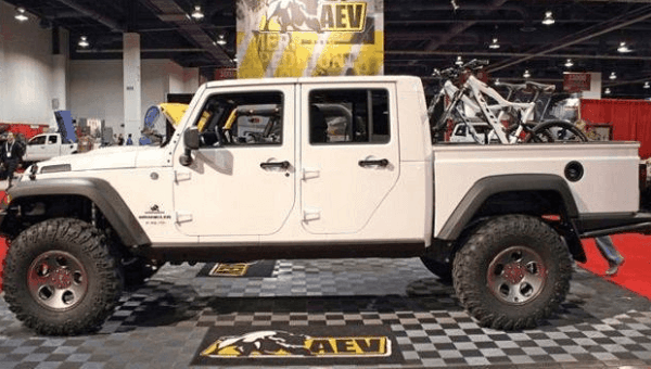 2021 Jeep Scrambler Pickup Used