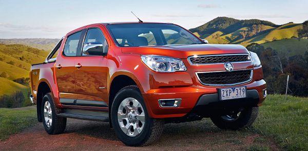 2021 Holden Colorado Australia