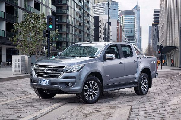 2021 Holden Colorado Refresh