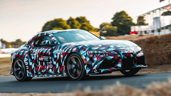 2021 Toyota Supra Body Kit Near Me Exhaust Dyno Modified