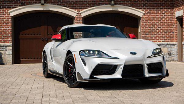 2021 Toyota Supra Model Car Car Model Cover Pics