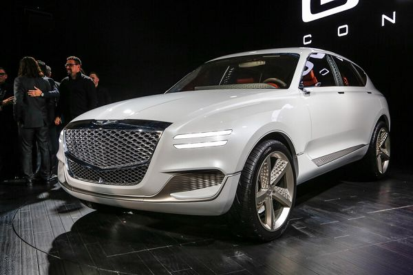 2020 Genesis Gv80 Facelift