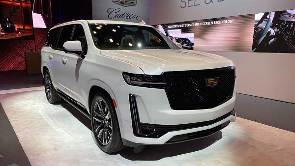 2021 Cadillac Escalade Ext Pic Dash News Spy Preview