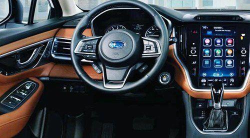 2021 Subaru Legacy Basic With Key Ignition Outback V6 Touring