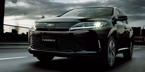 2021 Toyota Harrier Pictures 001