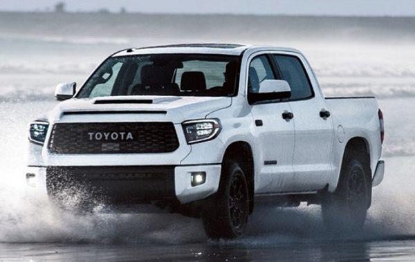 2021 Toyota Tundra 1794 Edition Spy Shots Reveal Towing Capacity Youtube