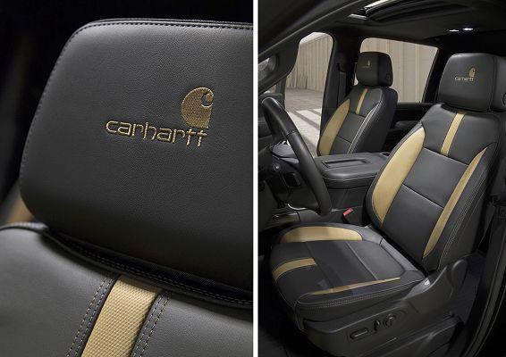 2021 Chevrolet Silverado 2500hd Carhartt Special Edition Crew Cab Standard Box