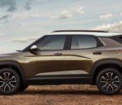2021 Chevrolet Trailblazer Usa Size Video Potos