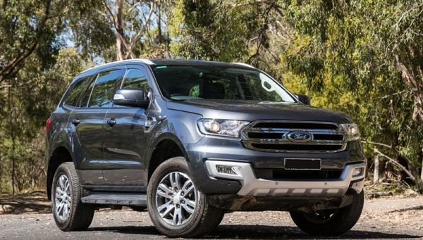 2021 Ford Everest Raptor Australia