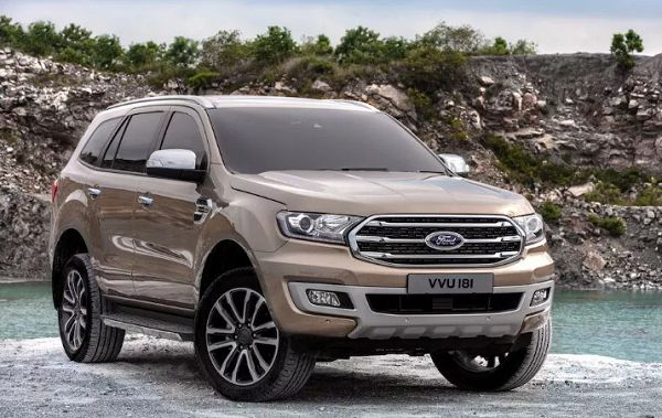 2021 Ford Everest Vehicle Concept