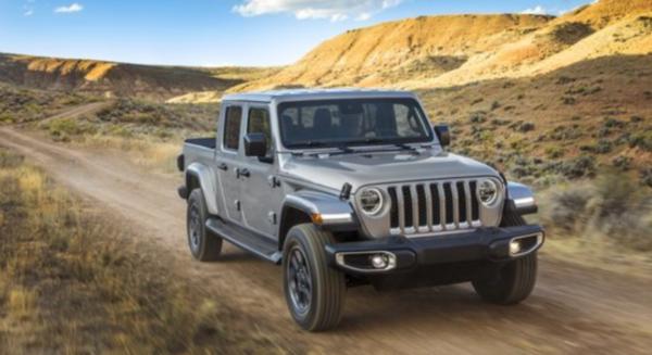 2021 Jeep Gladiator Diesel Exterior