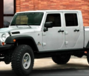 2021 Jeep Gladiator Extended Cab Exterior Design