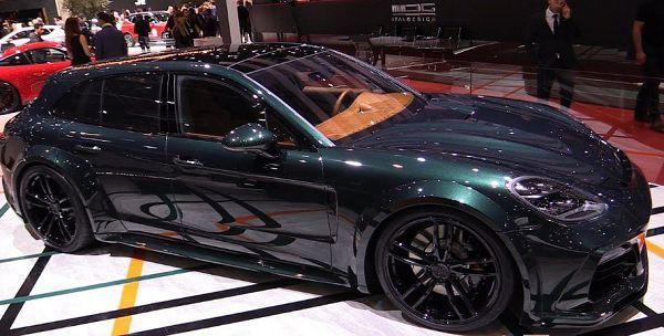 Porsche Panamera Sport Turismo Techart Grandgt Walkaround