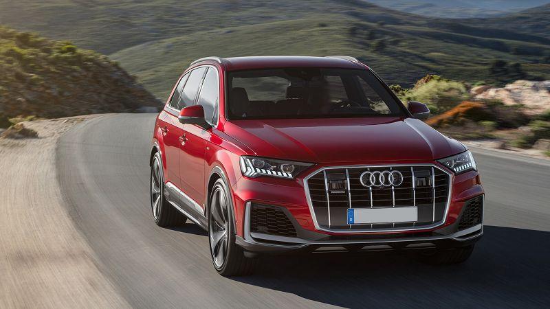 2021 Audi Q5 Restyling Rs Spy Shots Carplay