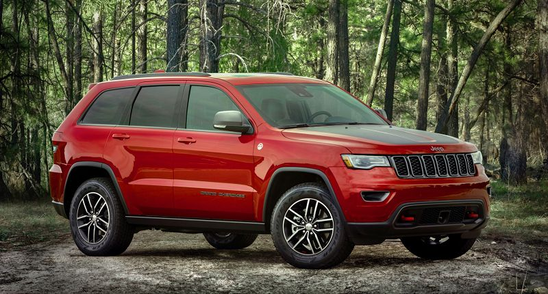 2021 Jeep Grand Cherokee Srt Limited Interior Trackhawk