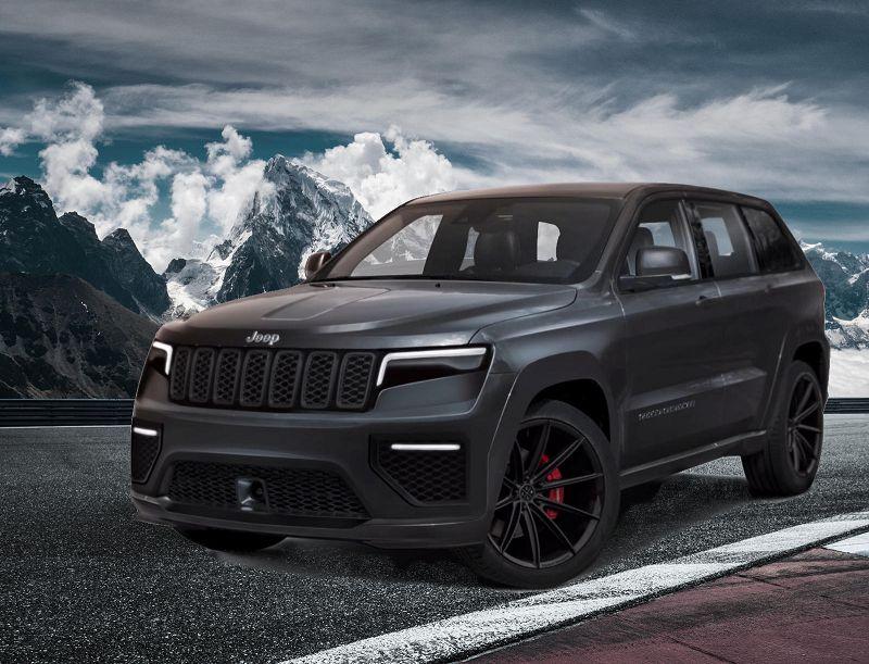 2021 Jeep Grand Cherokee Summit Rendering 3rd Row
