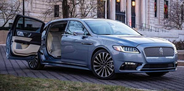 2021 Lincoln Continental Colors Prices