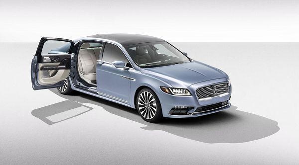2021 lincoln continental concept pictures redesign
