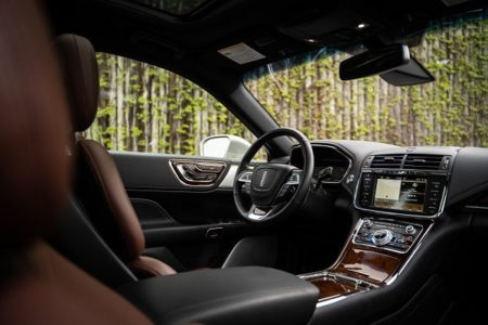 2021 Lincoln Continental Price Black Label Interior