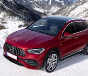 2021 Mercedes Benz Gla Boot Space Bekas Black