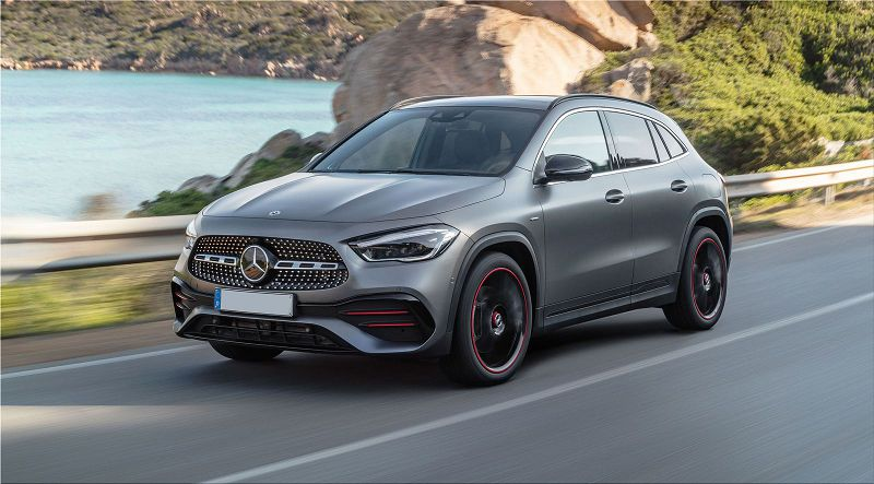 2021 Mercedes Benz Gla Lease A Of In India B Class Vs Service
