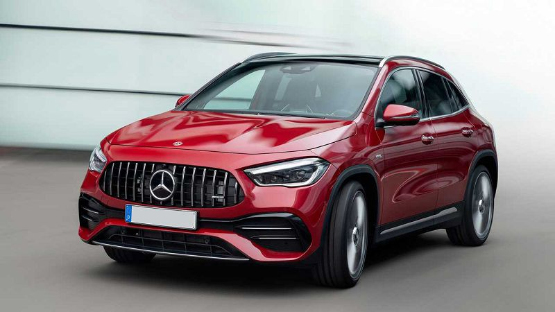 2021 Mercedes Benz Gla Reviews Pictures Brochure