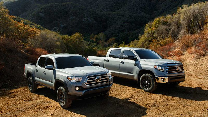 2021 Toyota Tundra The Available Colors Economy Special