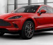 2021 Aston Martin Dbx On Blue Concept Colors Essai Ev