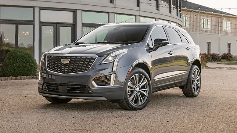 2021 Cadillac Xt5 Awd Accessories Auto Stop