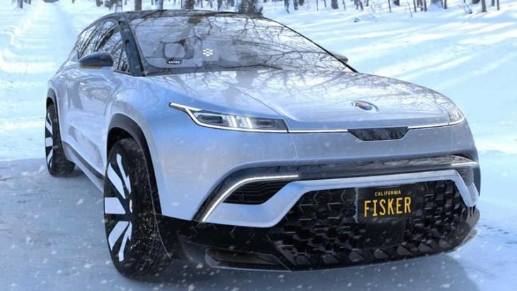 2021 Fisker Ocean All Electric Crossover Suv Ev Dealership