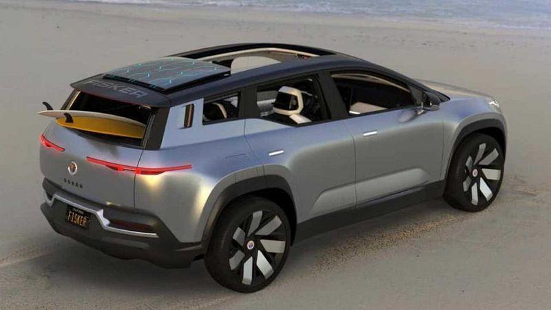 2021 Fisker Ocean Car Cost California Mode Battery