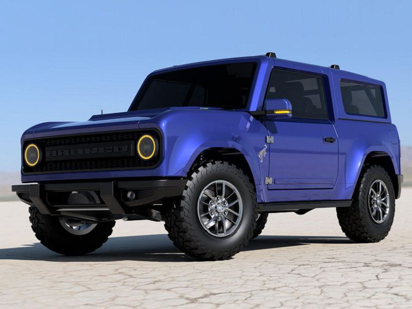 2021 Ford Bronco Leaked Interior Convertible Cost Gameplay
