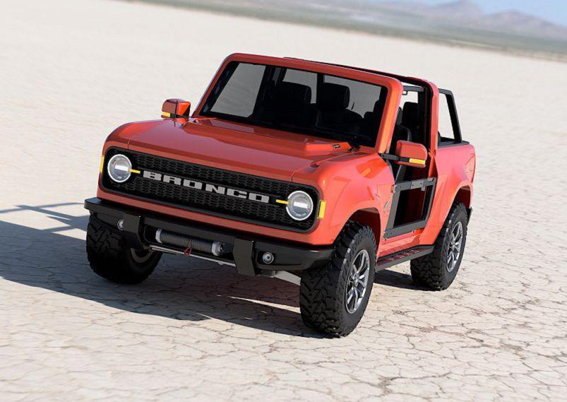 2021 Ford Bronco R Tfl Prices Concept Off Road Model Kit