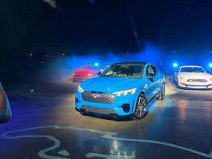 2021 Ford Mach E Ad All Wheel Drive Battery Black Size