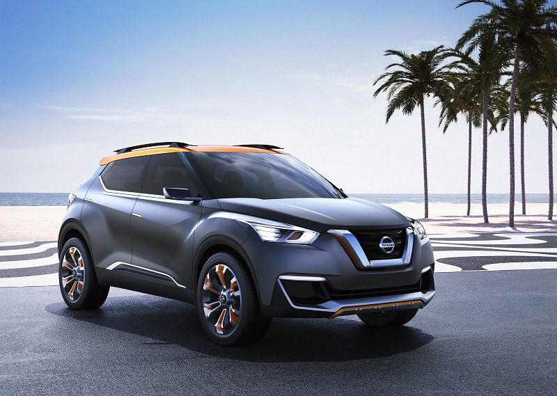 2021 Nissan Kicks Image Orange Tow Capacity