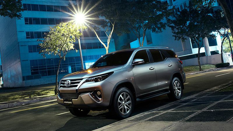 2021 Toyota Fortuner Facelift Philippines Thailand Model