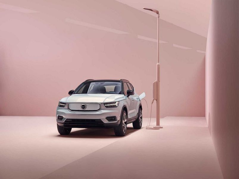 2021 Volvo Xc40 Price Offers Light Blue Accessories Key Fob