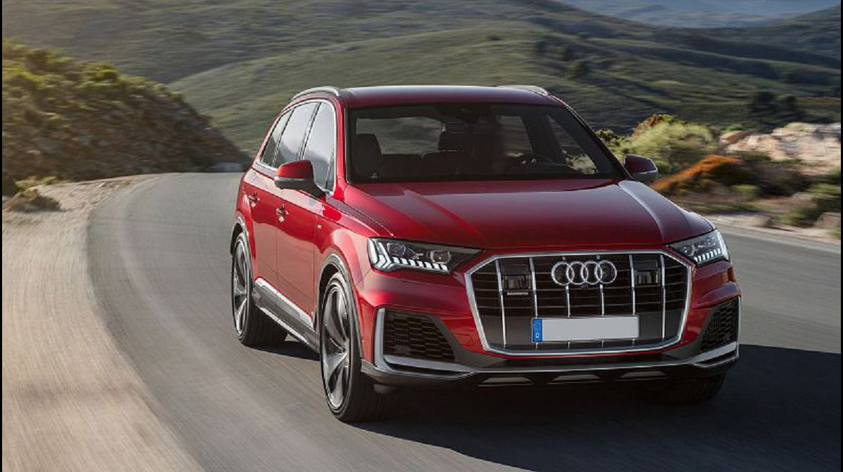 2021 Audi Q5 Restyling Rs Spy Shots Carplay