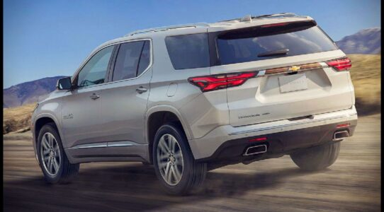 2021 Chevy Traverse Images Capacity Specifications Hybrid Cargo Space
