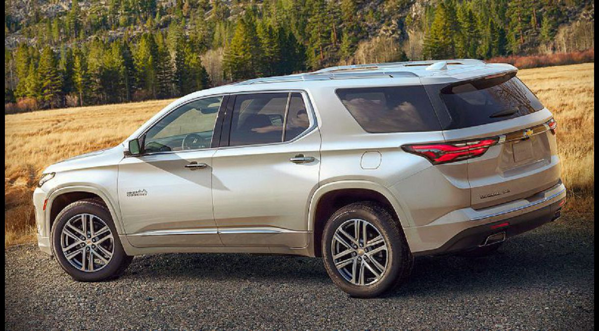 2021 Chevy Traverse Redline Edition High Country Price Interior Accessories