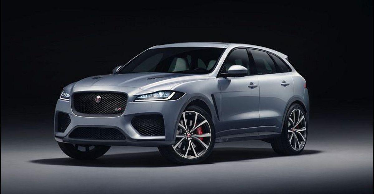 2021 Jaguar F Pace Facelift New 2020 Suv