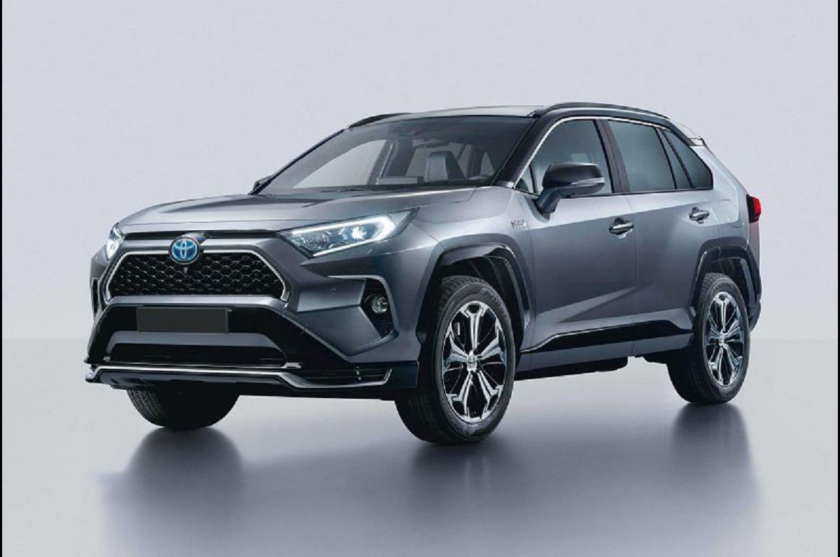 2021 Toyota Rav4 Electric Exterior Electrique Plug In