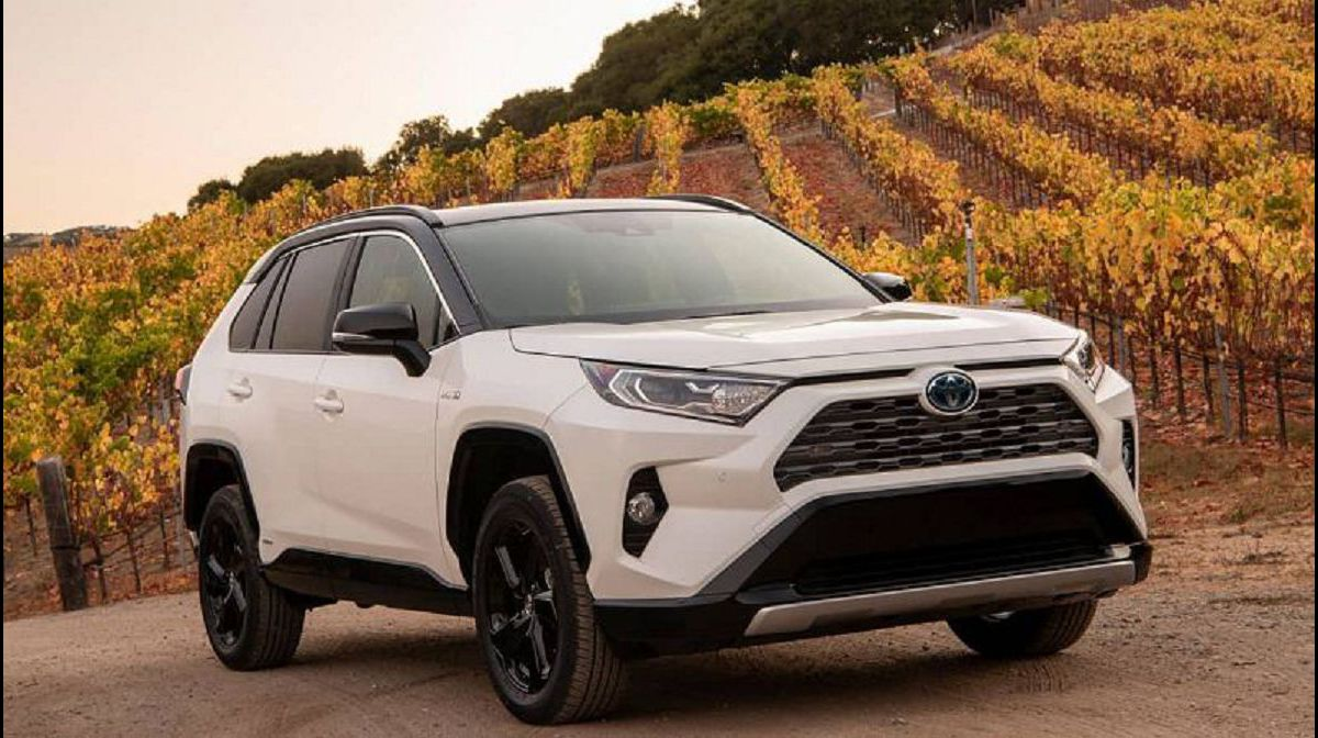 2021 Toyota Rav4 The For Facelift Xse Interior
