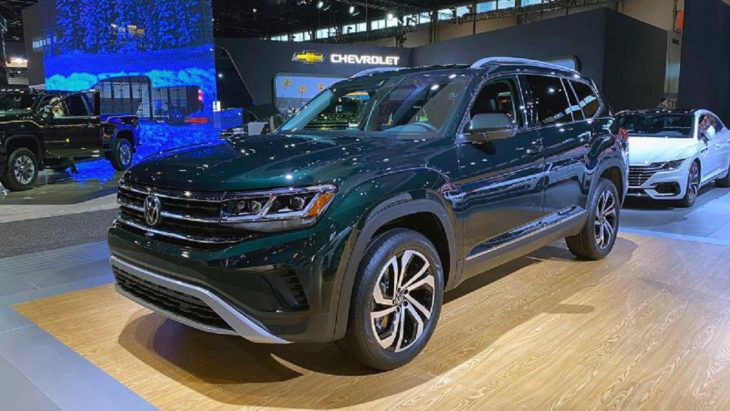 2021 Vw Atlas Accessories Pictures Cargo Space Frame Models