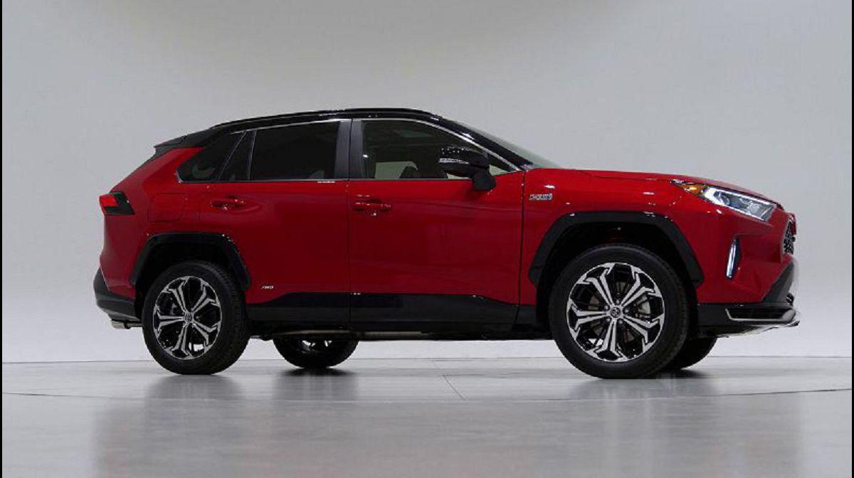 2021 Toyota Rav4 Hybride Capacity Changes Canada