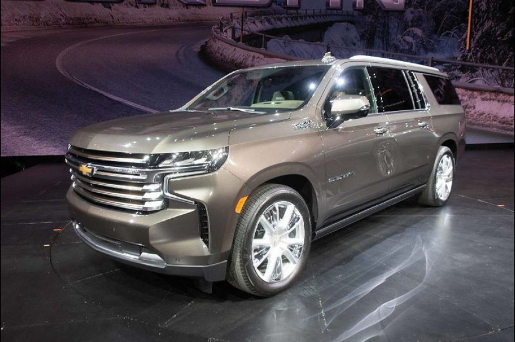 2021 Chevy Suburban Z71 Spec Trims Diesel Colors High Country